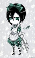 chibi Ulquiorra by bloodbutterfly10