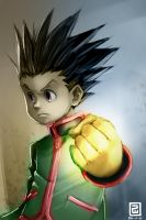 Gon Freecss by BondWithColors
