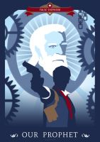 Bioshock Infinite: Booker by Spiritius
