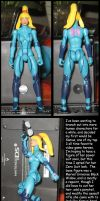 Zero Suit Samus custom by Wakeangel2001