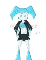 XJ9 Bleedman-style by MewCuxie12