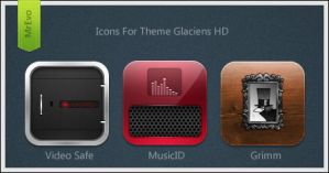 Glaciens HD Extra Icons Pack 2 by Mr-Evo