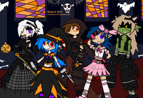Netherworld Halloween! by Firewarrior117