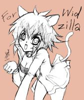 Nyan Judai for Widzilla by Moondogla