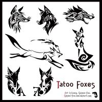 Tatoo Foxes by Culpeo-Fox