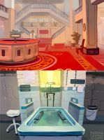 Background Studies: Grand Budapest Hotel by taho