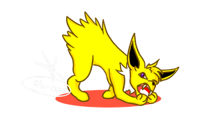 Jolteon by Snufbat