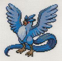 Articuno Cross Stitch by samadz