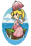 Wind Waker Peach at sea by Decapitated-Kittens