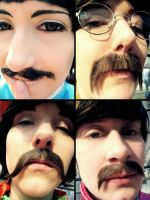 Sgt. Pepper's Beatles Cosplay - Sexy Moustache by Hikarulein