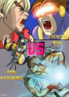 X-men VS Street fighter by Celian87