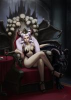 Empress Erin's throne by eronzki999