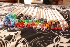 My Copic markers so far by dysfunctionalartist