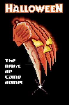 8 Bit Halloween Poster (1978) by frankdawg48