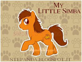 My Little Simba by StePandy