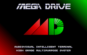 SEGA MegaDrive Wallpaper Pack by ZanaGB