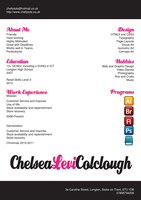 My CV by ChellyTots