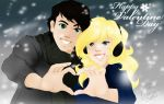 PJtO: Percy and Annabeth Valentine 2014 by Fuienu-chan