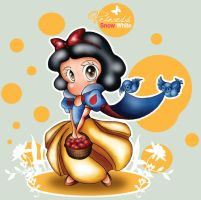 Chibi Princess . Snow White by alittlemandy
