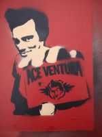 Ace Ventura by streetisking