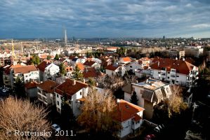 belgrade after the rain by rottensky
