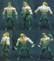 Capcom Street Fighter 3 Alex Custom Figure by custommaker