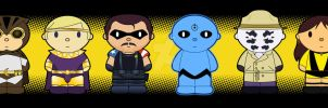 Cartoon Friends: WATCHMEN by thisisanton