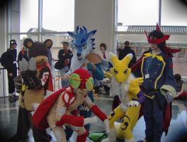 Weregarrurumon Boston 2008 2 by destinyhunter86