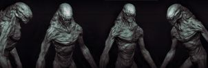 Kalek creature concept by sancient