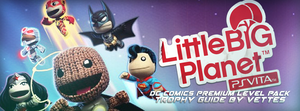 Banner - Little Big Planet VITA: DC Comics by ericvoltage