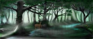 Magical Forest by sassyangel