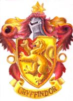 gryffindor seal by blastedgoose
