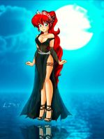 Ranma Chan   I Am The Goddess Of Death By Link1291 by jpgfile0199