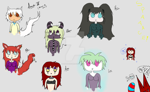 Chibis by LuminaInomi