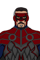 new mask for McKnight by MercyInk87
