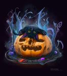 Halloween theme (cat 2) 26 10 2016 by An9reyART