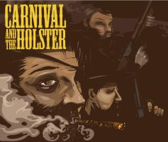 Carnival and the Holster by TraceLandVectorie03