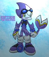 Riptide the Dolphin by Shadette