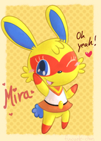 Super Bunny: Mira by fuwante-chan