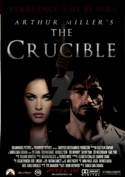 The Crucible Movie Poster by 4thElementGraphics