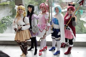 PMMM - Magical Girls by Eli-Cosplay
