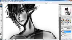 .: Sketching Victor :. by MisterZei