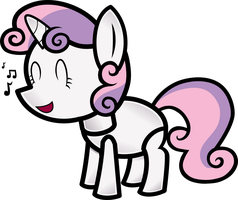 MPP Sweetie Belle by Secret-Asian-Man