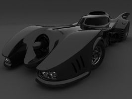1989 Batmobile by J-Seven