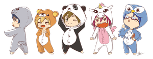 Free! Kigurumi Fashion Show by AgentKnopf