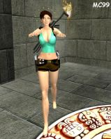 Lara Croft Hypnotized And Barefoot. by The-Mind-Controller