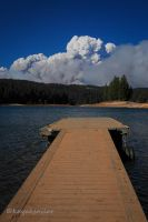 View of the smoke by kayaksailor