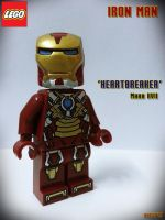 LEGO Iron Man Mark VII Heartbreaker by areev19