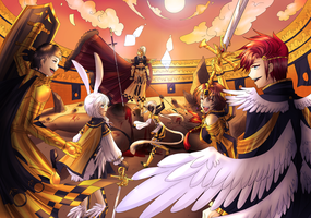 CLCT_RANKING ROUND Victory Aftermath by Dante-Aran