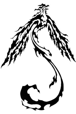 Tribal Phoenix Tattoo Designs Picture 5
